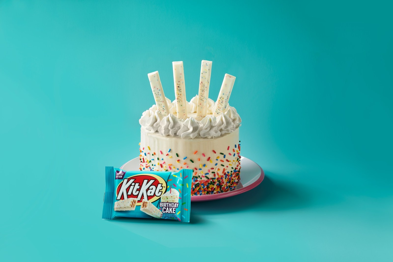 Kit Kat is launching Birthday Cake flavored chocolates this spring and they are delicious!