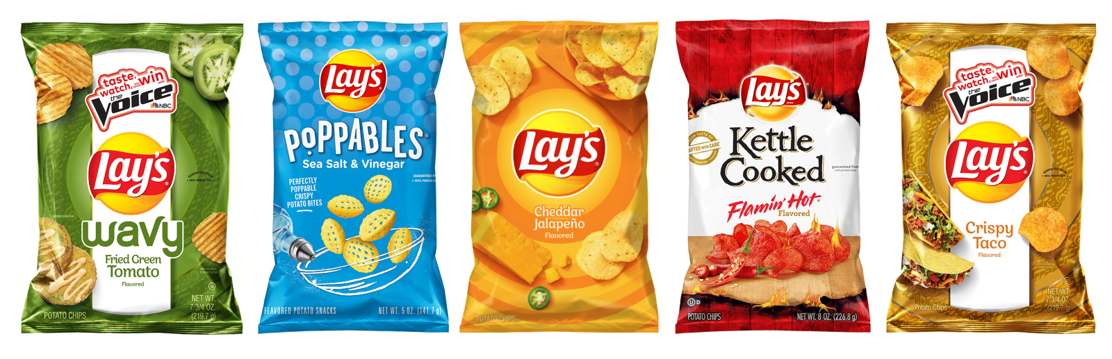 Lay's teamed up with The Voice to deliver some limited-time flavors and more