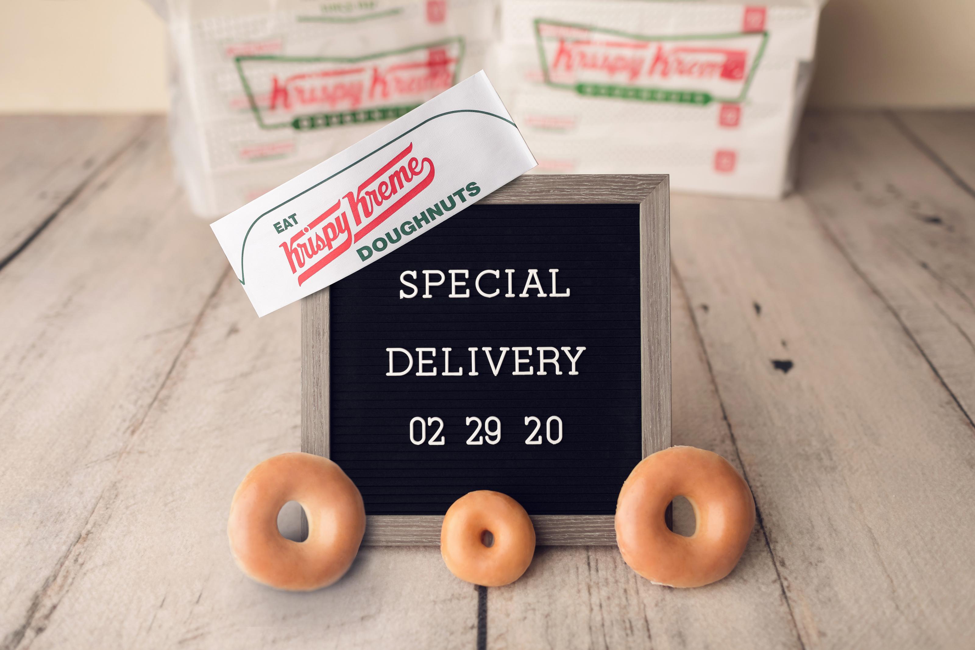 Krispy Kreme now bringing donuts to your door