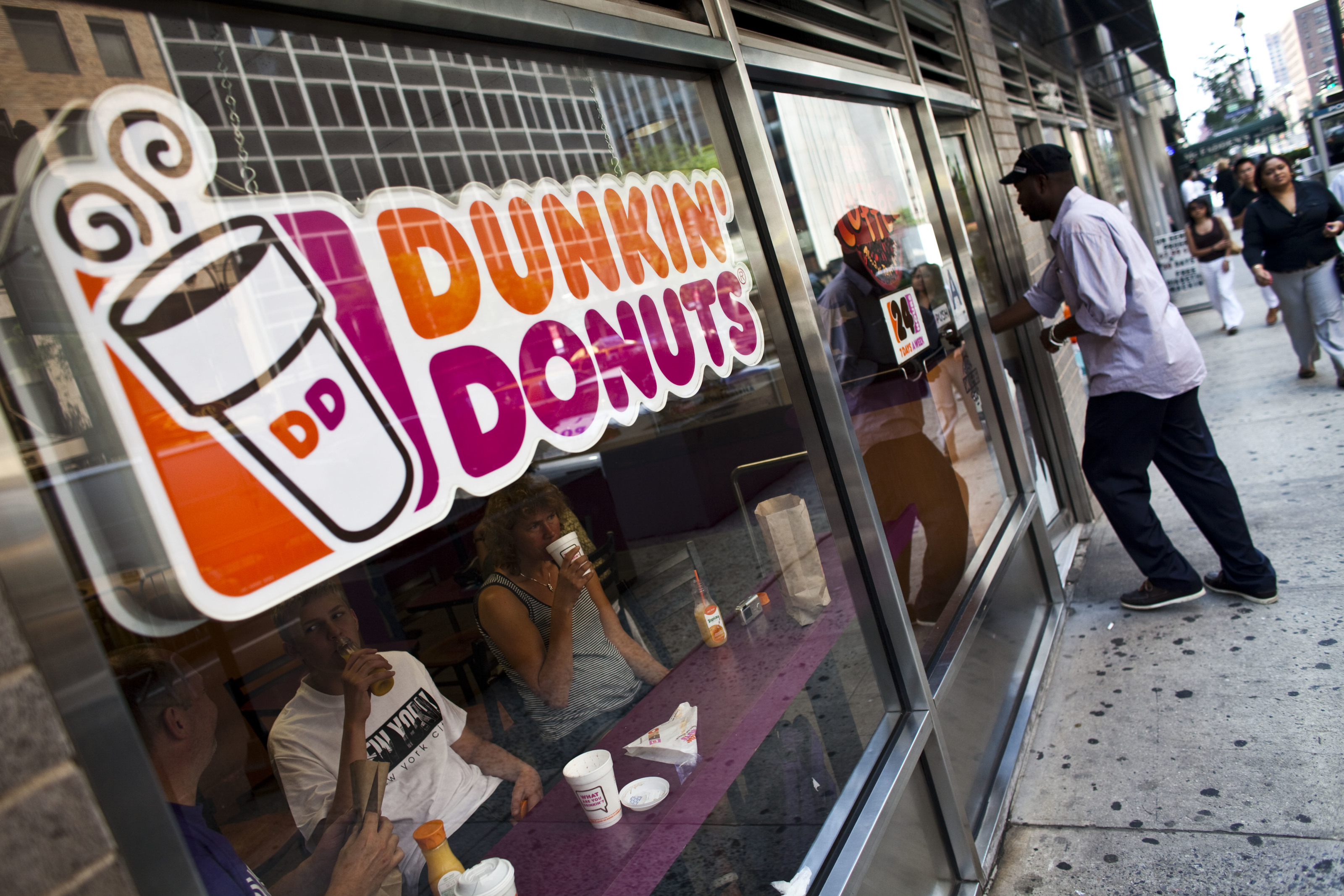 Get your bag of bacon at Dunkin' today